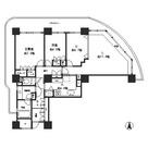 リバーポイントタワー / 2201 部屋画像1