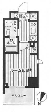 ダフィット門前仲町 / 3階 部屋画像1