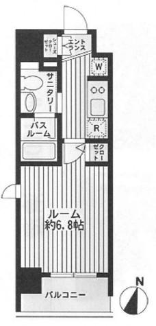 ダフィット門前仲町 / 9階 部屋画像1