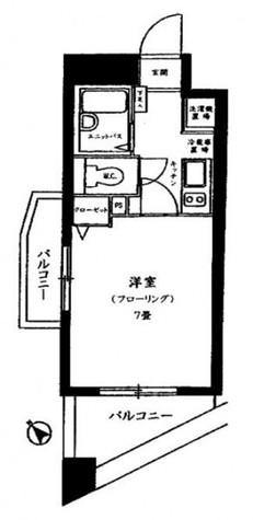 スカイコートヌーベル早稲田 / 4階 部屋画像1