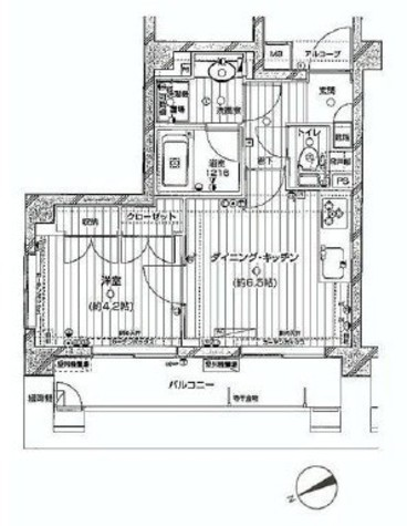 ジェイパーク代々木 / 6階 部屋画像1
