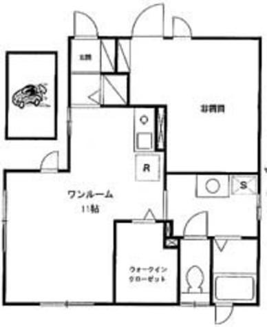 ラウルス クラヴィス / 1階 部屋画像1