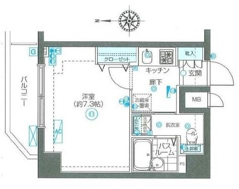 フェニックス本郷東大前 / 6階 部屋画像1