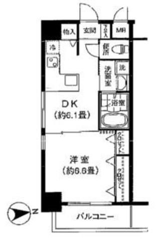 コモドール雷門 / 902 部屋画像1