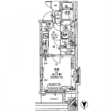 プロスペクト・グラーサ広尾 / 4階 部屋画像1
