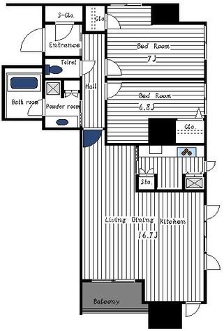 メトロタワー山下町 / 1301 部屋画像1