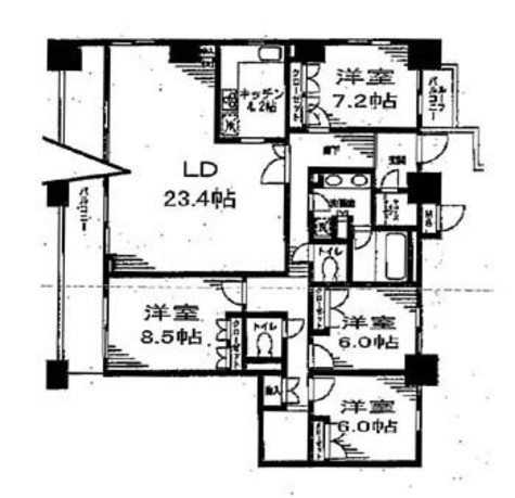 レジディア日本橋馬喰町 / 1701 部屋画像1