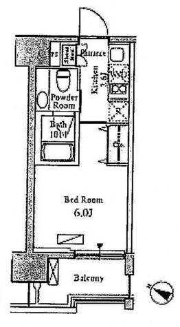 ベルファース目黒 / 3階 部屋画像1