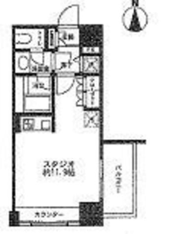 レジディア市ヶ谷 / 309 部屋画像1