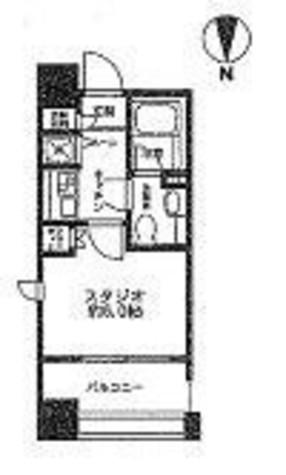 レジディア市ヶ谷 / 4階 部屋画像1