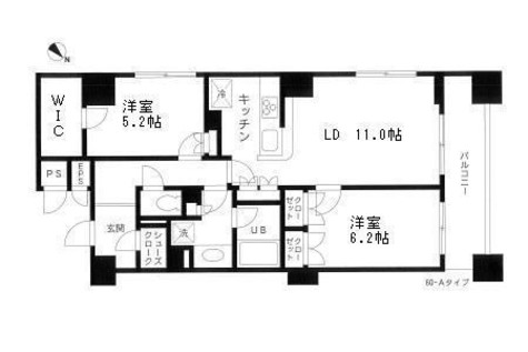 レジディア日本橋馬喰町 / 8階 部屋画像1