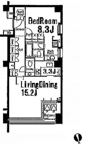 ストーリア赤坂 / 3階 部屋画像1