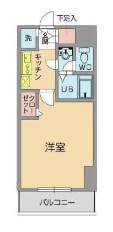 メゾン・ド・ヴィレ日本橋浜町 / 1107 部屋画像1