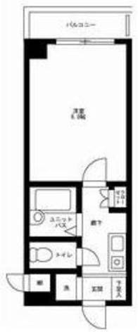 メインステージ江戸川橋Ⅱ / 2階 部屋画像1