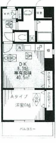 リベア東神田 / 401 部屋画像1
