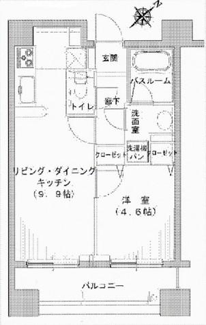 ヒルレジデンス大崎 / 304 部屋画像1