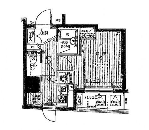 プレール・ドゥーク銀座EAST / 7階 部屋画像1