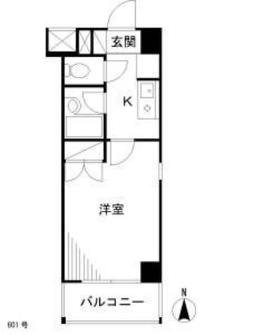 ポプラハウス / 6階 部屋画像1
