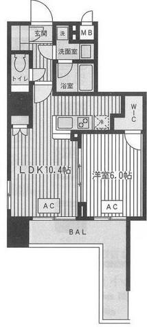 ファインアドレス新御徒町 / 607 部屋画像1