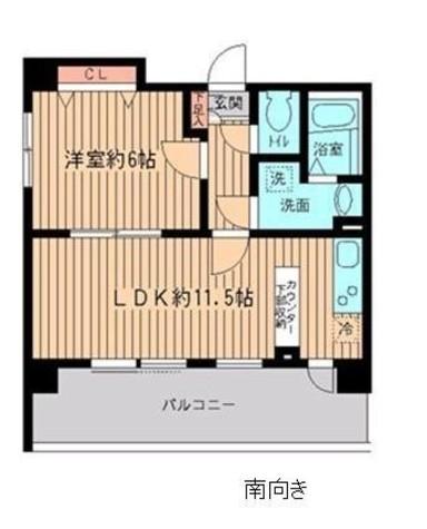 リバティヴ東神田 / 11階 部屋画像1