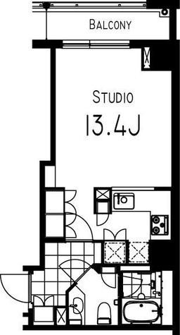 コンフォリア日本橋人形町イースト / 607 部屋画像1