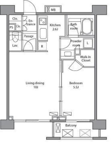 レジディア新宿イーストⅡ / 6階 部屋画像1