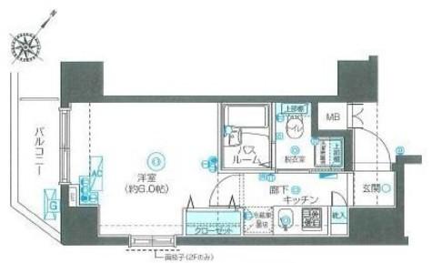 フェニックス伊勢佐木町弐番館 / 3階 部屋画像1