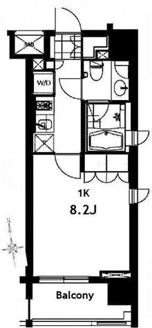 芝ウエスト / 9階 部屋画像1
