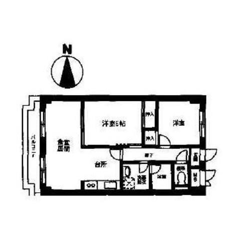 カーサU2 / 209 部屋画像1
