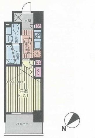 パークキューブ武蔵小杉 / 13階 部屋画像1