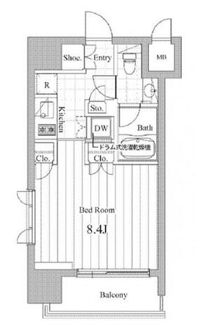 チェスターコート御茶ノ水 / 707 部屋画像1