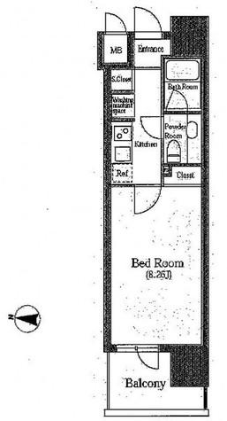 パトリア九段下(旧クレジデンス九段) / 603 部屋画像1