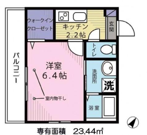Maison One(仮称)ヘーベルハウス目黒本町 / 2階 部屋画像1