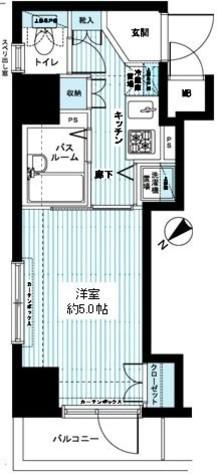 アヴァンティーク銀座一丁目 / 12階 部屋画像1