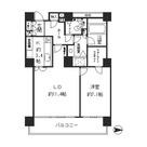 リバーポイントタワー / 1604 部屋画像1