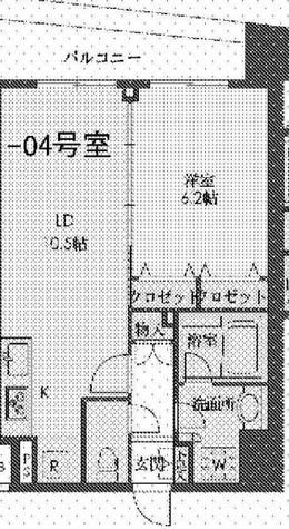アーバネックス戸越銀座(旧:ステイシス戸越銀座) / 804 部屋画像1