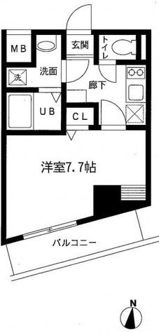 アドヴァンス武蔵小杉 / 3階 部屋画像1