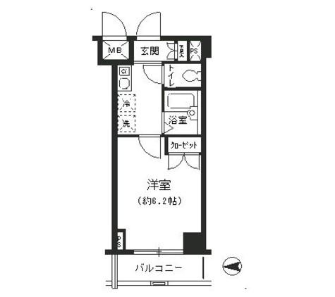 T&G四谷マンション / 409 部屋画像1