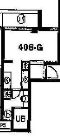 スカイコート学芸大学壱番館 / 4階 部屋画像1