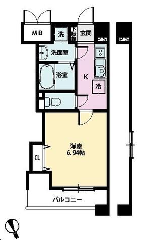 POWERHOUSE/大師(パワーハウスダイシ) / 6階 部屋画像1