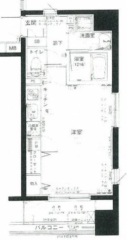 パークウェル秋葉原 / 8階 部屋画像1