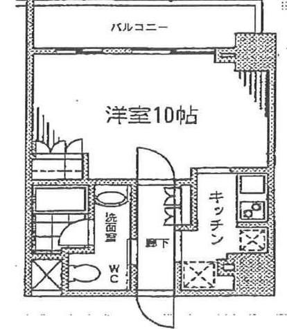 カスタリア門前仲町Ⅱ(旧ニューシティレジデンス門前仲町イースト) / 6階 部屋画像1