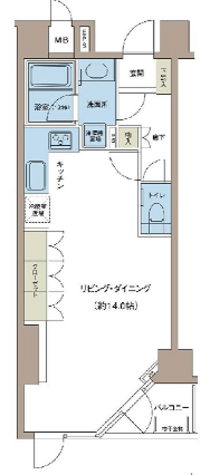 リエトコート四谷 / 1階 部屋画像1