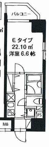 レジディア新御茶ノ水 / 9階 部屋画像1