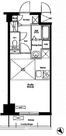 FORTIS水天宮前【フォルティス水天宮前】(旧 モノトーノ水天宮前) / 1階 部屋画像1