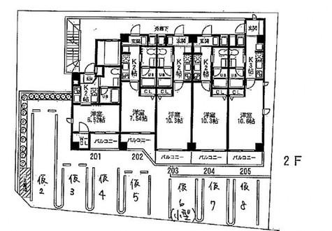 VICOLO横浜反町(Vicolo横濱反町) / 205 部屋画像1