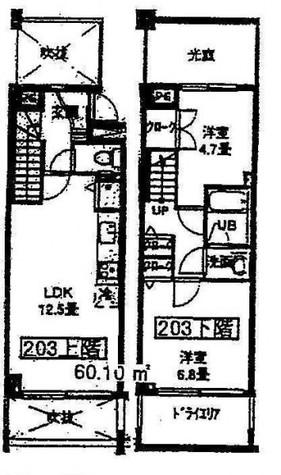 コリーヌ八雲参番館 / 203 部屋画像1