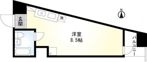 大森山王ハマセイホウ / 3階 部屋画像1