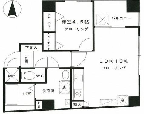 ソフィア西浅草 / 3階 部屋画像1