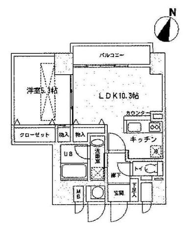 ルジェンテリベル日本橋濱町(旧トレステージ日本橋浜町) / 5階 部屋画像1